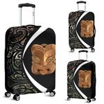 Paua Shell Maori Whakairo Luggage Covers Circle Style J95