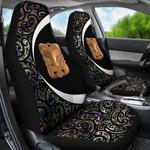Paua Shell Maori Whakairo Car Seat Covers Circle Style J95