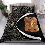 Paua Shell Maori Whakairo Bedding Set Circle Style J95