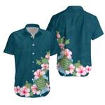 Hibiscus Turtle Hawaiian Shirt K5