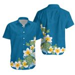 Plumeria Sea Turtle Hawaiian Shirt K5