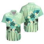 Turtle Plumeria Hawaiian Shirt K5