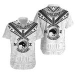 New Zealand Maori Hawaiian Shirt Waitangi Day - White K54