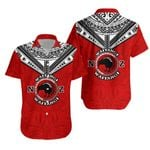 New Zealand Maori Hawaiian Shirt Waitangi Day - Red K54