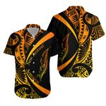New Zealand Silver Fern Hawaiian Shirt Maori Tattoo Circle Style - Sunrise Vibe J95