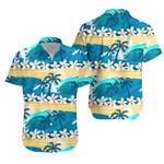 Tropical Surfing With Palm Trees Hawaiian Shirt K5