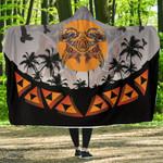 Maori Papaka Hooded Blanket K5