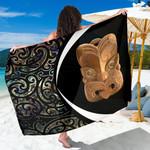 Paua Shell Maori Whakairo Sarong Circle Style J95