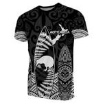 New Zealand T-Shirt Maori Surf - Black