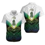 Maori Manaia New Zealand Hawaiian Shirt Rasta K4