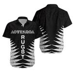 Aotearoa Rugby Silver Fern Hawaiian Shirt Classic Style K4