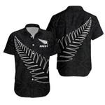 New Zealand Silver Fern Rugby Hawaiian Shirt K4
