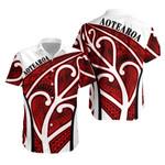 Aotearoa Hawaiian Shirt Silver Fern Maori Rugby TH5