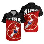 New Zealand Anzac Hawaiian Shirt Lest We Forget Poppy Maori Fern A025