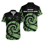 New Zealand Maori Rugby Kirituhi Tattoo Hawaiian Shirt K5