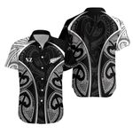 Maori Ta Moko Tattoo, Rugby Hawaiian Shirt K5