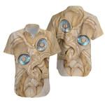 New Zealand Maori, Tiki With Paua Shell Eyes Hawaiian Shirt K5