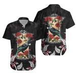 New Zealand Hawaiian Shirt  - Tui and Pohutukawa K5