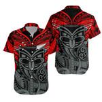 New Zealand Warrior Tattoo Rugby Hawaiian Shirt K5