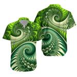 New Zealand Koru Fern Hawaiian Shirt - Abstract Style K4