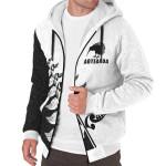 Silver Fern Koru Sherpa Hoodie K47 - 1st New Zealand