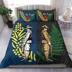 Anzac Spirit, Lest We Forget Bedding Set K5 Blue