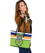 Canberra Small Leather Bag Raiders Viking K8