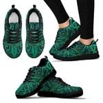 New Zealand Warriors Sneakers Green K4