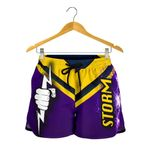 Melbourne All Over Print Women's Shorts Thunder