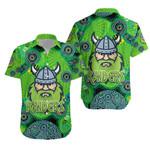 Canberra Hawaiian Shirt Raiders Viking Indigenous