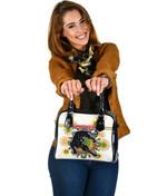 Penrith Shoulder Handbag Indigenous Panthers - White K8