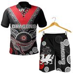 Combo Polo Shirt and Men Short ST.George Aboriginal