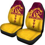 Broncos Car Seat Covers Brisbane Aboriginal | Rugbylife.co