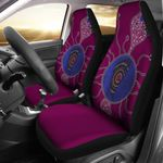 Sea Eagles Car Seat Covers Aboriginal Map TH4