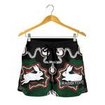 Rabbitohs All Over Print Women's Shorts Aboriginal 2