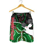 Rabbitohs All Over Print Men's Shorts Aboriginal