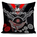 ST.George Pillow Cover Aboriginal Th4