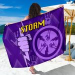 Melbourne All Over Sarong Storm TH4