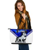 Bulldogs Large Leather Bag TH4