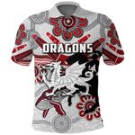Dragons Polo Shirt St. George Indigenous White K4