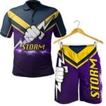 Combo Polo Shirt and Men Short Fremantle Dockers Indigenous Freo