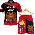 Combo Polo Shirt and Men Short Papua New Guinea Rugby