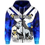 Bulldogs All Over Zip-Hoodie Warrior Man 2