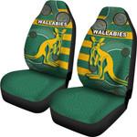 Wallabies Car Seat Covers Aboriginal Th4