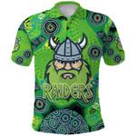 Canberra Polo Shirt Raiders Viking Indigenous