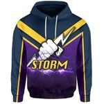 Melbourne All Over Hoodie Thunder