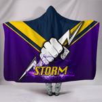 Melbourne Hooded Blanket Thunder TH4