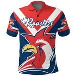 Australia Roosters Polo Shirt Rugby K4