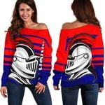 Knights Women's Off Shoulder Sweater