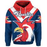Australia Roosters Hoodie Rugby K4
